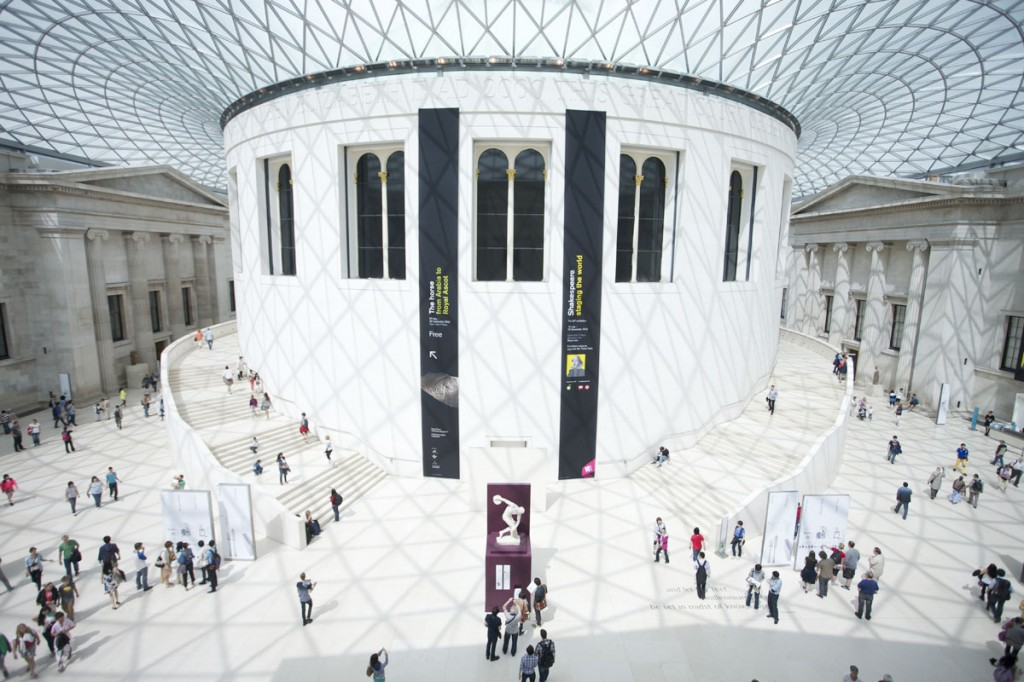 The British Museum saw a 20% increase in its visitor numbers – making it the museum's most successful year on record