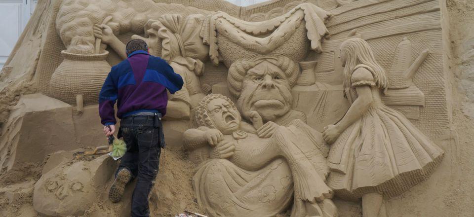 International Sand Sculpture Festival – Sandworld-3