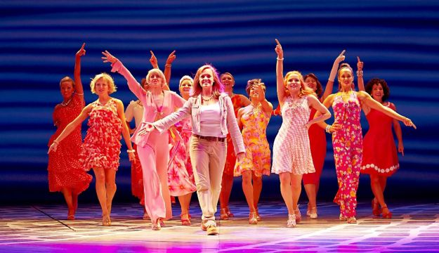 Free coach parking for MAMMA MIA! in Blackpool
