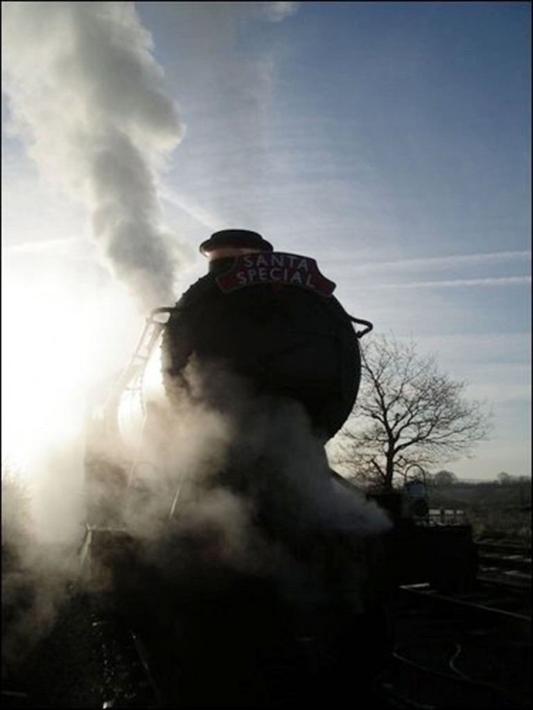 Winter Sunrise, West Somerset Railway