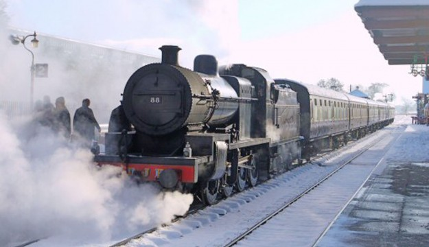 West Somerset Railway offers steam train outings for 'Turkey & Tinsel' Breaks Pre Christmas 2015