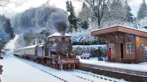 Explore on The West Somerset Railway this festive season