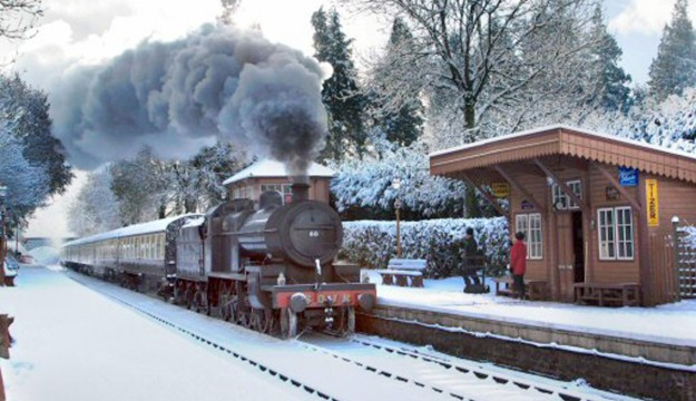 Explore on The West Somerset Railway this festive season