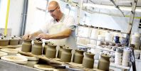 Historic Middleport Pottery becomes a hive of festive activity