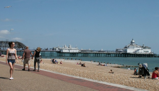 It's Back to Business As Usual on Eastbourne Seafront
