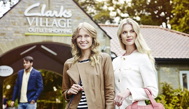 Clarks Village, the perfect shopping trip for your group