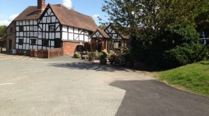 The Trumpet Inn, well worth a visit