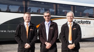 Coach firm leads the way in driver training