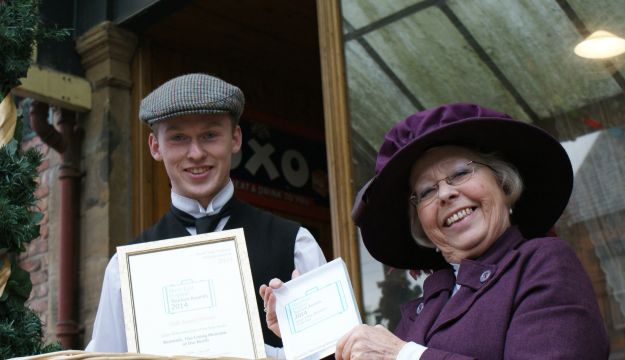 "Beamish strikes gold at North East Tourism ""Oscars"""