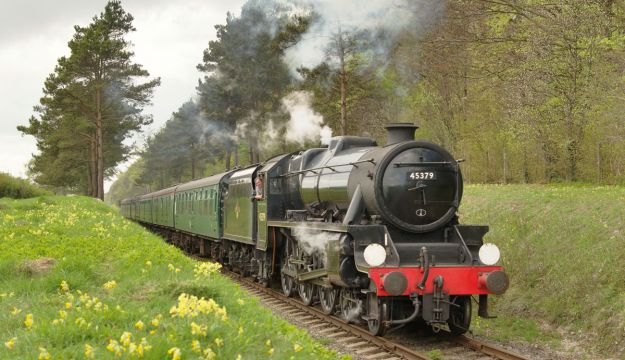 Step back in time on the Watercress Line
