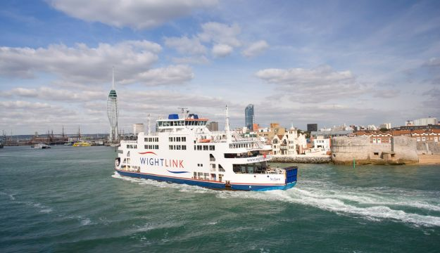 Wightlink Ferries launches improvements to its foot passenger groups