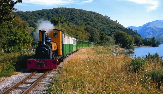Llanberis Lake Railway- a must for any groups visiting Wales