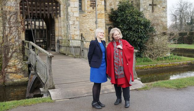 Wolf Hall author Hilary Mantel visits Hever Castle