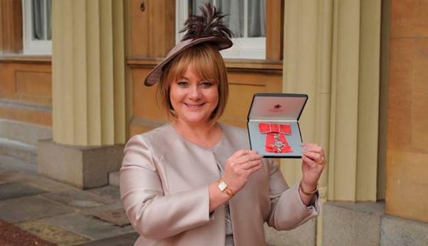 Visit Kent's Sandra receives MBE at Buckingham Palace