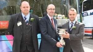 Edwards Coaches Win Welsh Coach of the Year at the UK Coach Rally 2015 for the 3rd Consecutive Year
