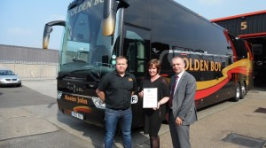 Golden Boy first coach operator to receive CPT Workshop Accreditation