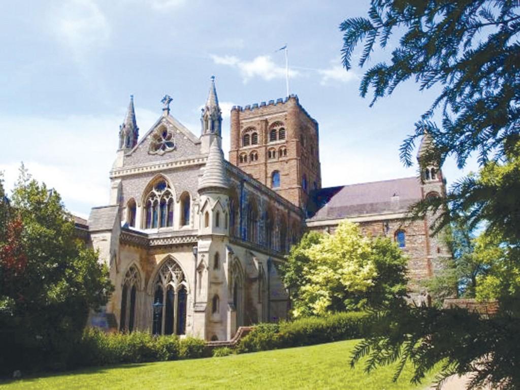 St Albans - a unique Cathedral City