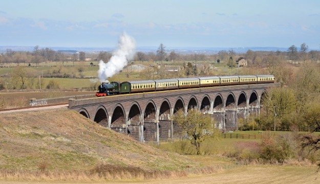 Full steam ahead with The Gloucestershire & Warwickshire Railway