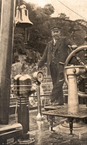 Captain Mackinnon the first skipper of The Steamship Sir Walter Scott
