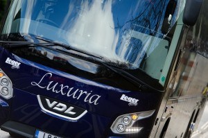 The Luxuria coach from Leger Holidays
