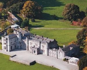 Leighton Hall Aerial