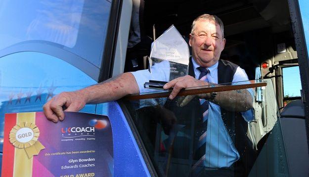 Local Tonyrefail Boy Voted Best UK Coach Driver