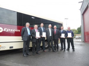 Industry first as Epsom Coaches recently achieved all CPT Accreditations