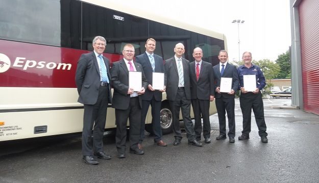 Industry first as Epsom Coaches achieves all CPT Accreditations