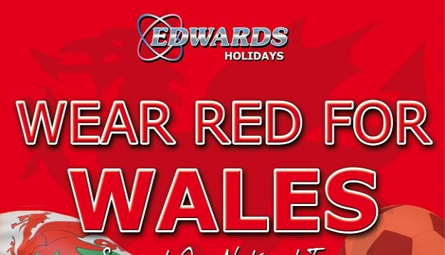 Edwards Coaches Launch Wear Red for Wales