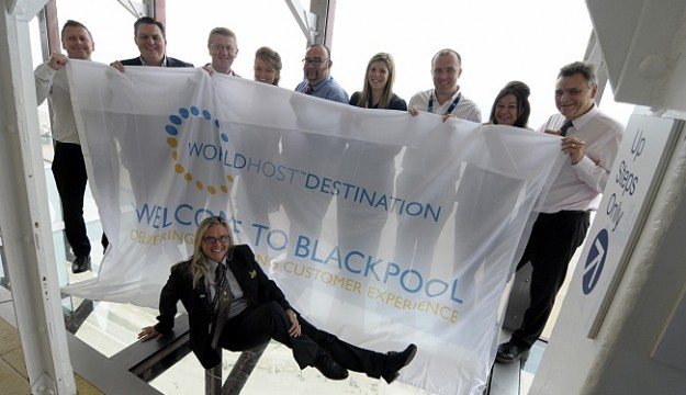 Blackpool Achieves WorldHost Recognition Status For Excellent Customer Service