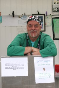 Bill Jackson hangs up his bandana after 25 years on Bury Market
