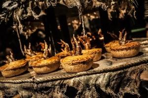 Mr Twit's Bird Pie - Dinner at the Twits CREDIT Rah Petherbridge Photography