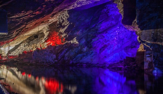 Llechwedd Slate Caverns Offering The Deep Mine Tour and the Quarry Explorer