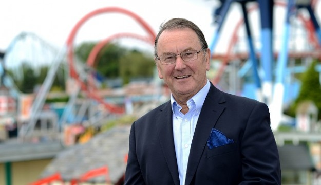 Colin Bryan, son of founder at Drayton Manor Park receives OBE