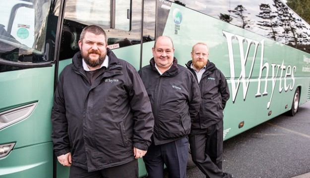 Whytes Coaches makes return trip to tours market