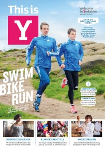 "The Brownlee brothers on the current edition of ""This Is Y"" magazine"