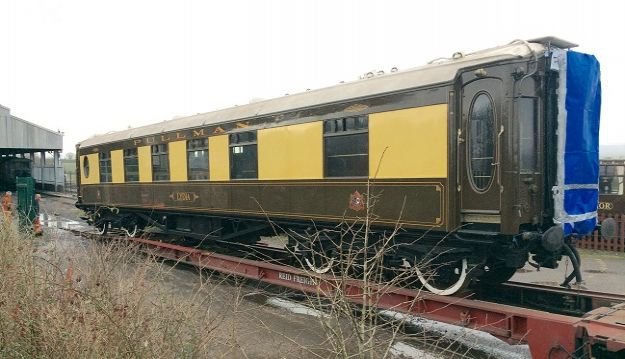 Pullman Car 'Lydia' comes to Somerset