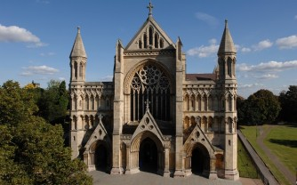 St Albans Cathedral West End