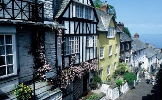Clovelly 'The village street'