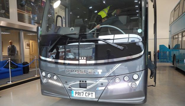 "PROSPECT COACHES TAKES DELIVERY OF ITS ""CPT COACH"""