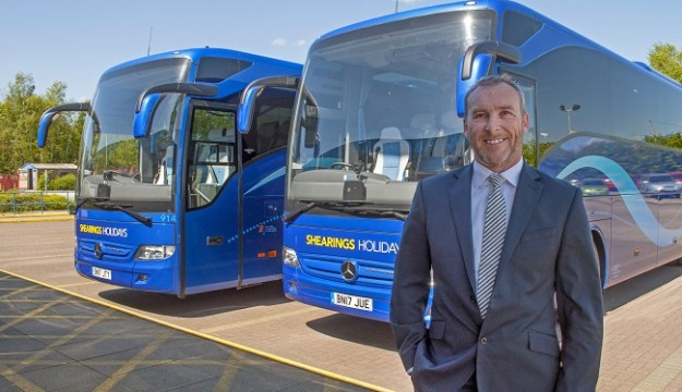 Shearings Holidays adds 29 new Mercedes Tourismos as part of its continous fleet renewal programme