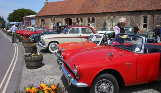The West Somerset Railway's annual Classic Car Run