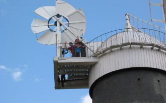 Bircham Windmill Waving
