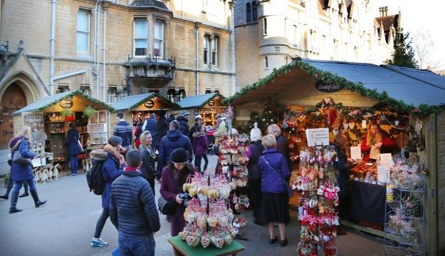 Oxford Christmas Market to take place from 7th to 17th December