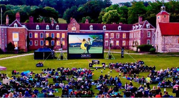 Open Air Cinema Returns to Stonor Park