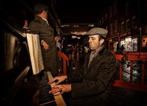 Worcester Xmas Fayre Piano