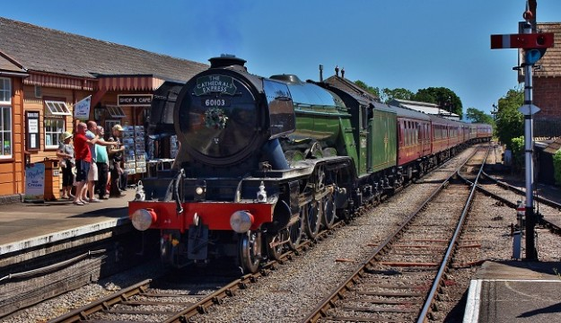 It's not too late to travel behind the Flying Scotsman