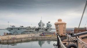 Portsmouth Historic Dockyard Welcomes the HMS Queen Elizabeth to Portsmouth