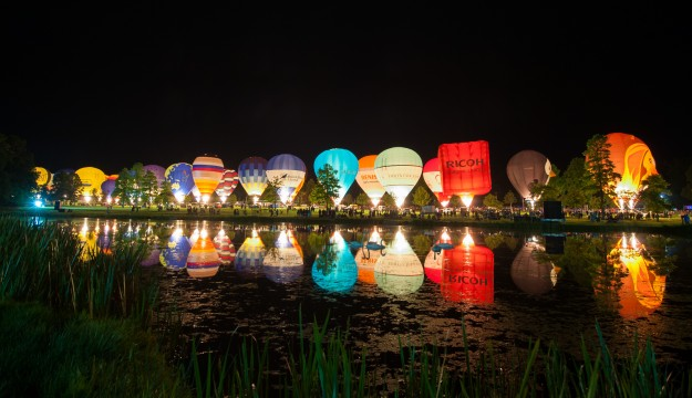 Longleat set to stage UK'S largest balloon festival
