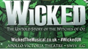 WICKED NOW BOOKING TO SATURDAY 1 DECEMBER 2018
